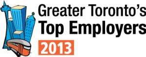 GTA Top Employer 2013