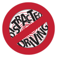 DistractedDrivingSticker_plain