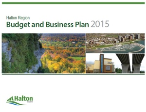 Halton Region Budget and Business Plan 2015