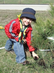 Scouts Tree Planting